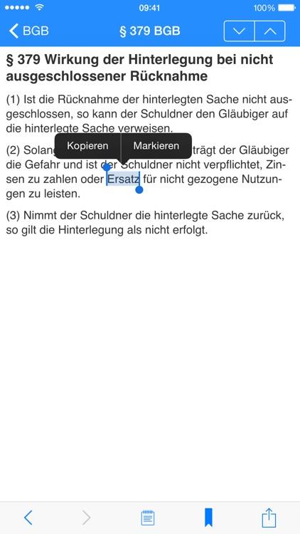 Gesetze ( Bund | Bayern | EU ) screenshot-4