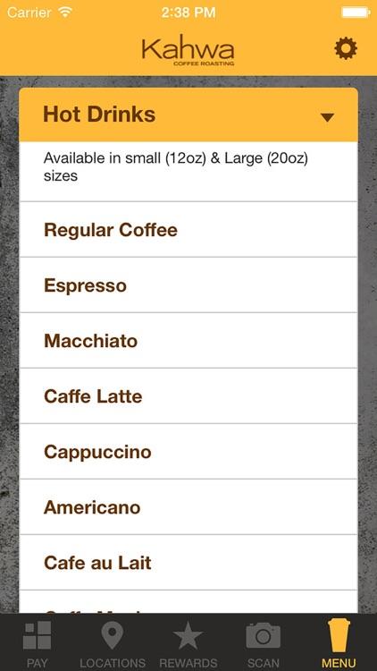 Kahwa Coffee screenshot-3