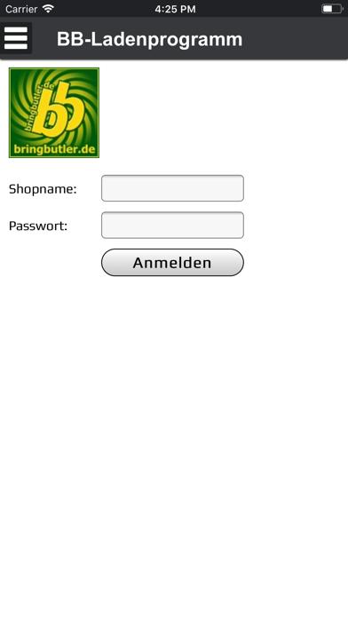 Bringbutler-KassenprogrammScreenshot von 1