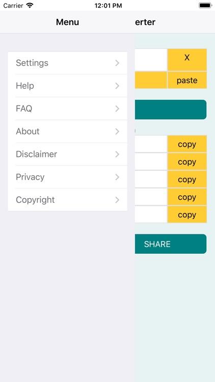 UTM RD GPS coords converter screenshot-4