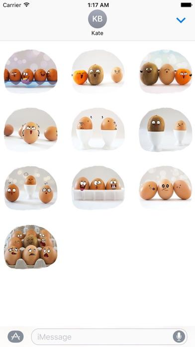 Story of Cute Eggs Sticker screenshot 3