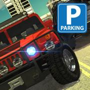 城市街道超级运动车停车驾驶模拟器 - 交通吉普车模型