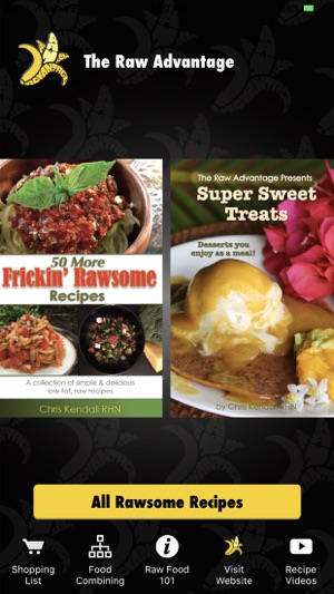 The raw advantage raw recipes on the app store iphone screenshots forumfinder Image collections