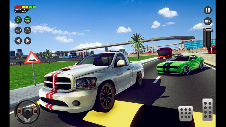 City Car Driving School Sim 3D screenshot-7