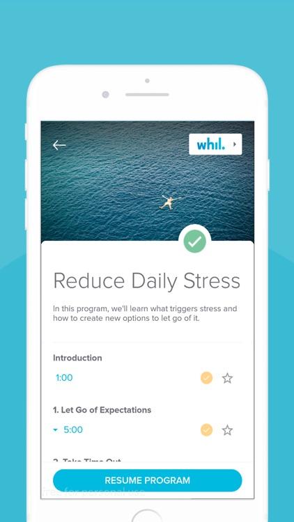 Whil: Mindfulness & Meditation screenshot-3