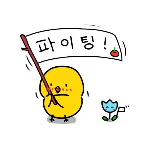 Chick KR Sticker