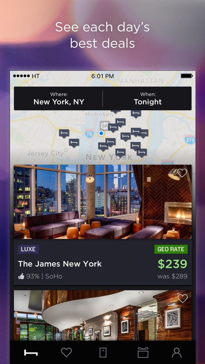 HotelTonight Screenshot