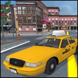 Taxi Driver City New 3d
