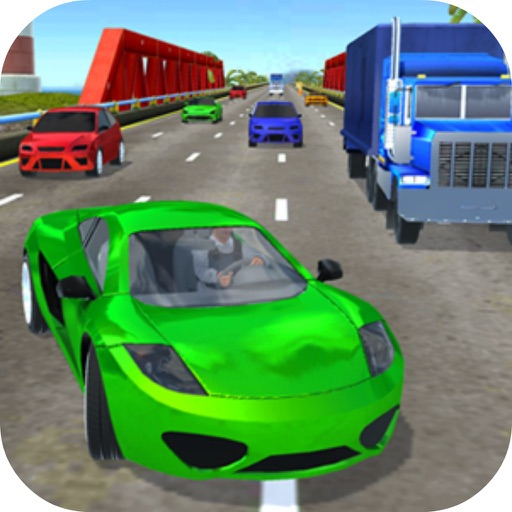 Traffic Driver Car Pro icon