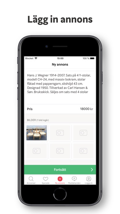 Screenshot for Blocket in Sweden App Store