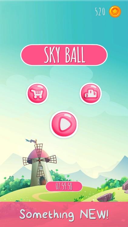 Sky Ball - Tap, Shoot and Pop screenshot-3