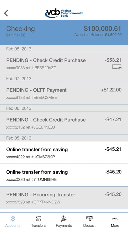 VCB Mobile Banking screenshot-3