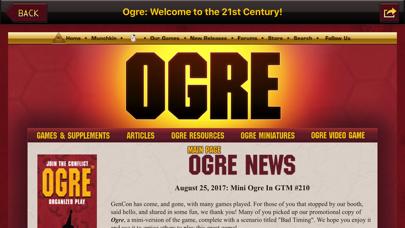 Ogre War Room screenshot two