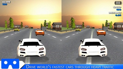 VR Racing Car Highway screenshot 3