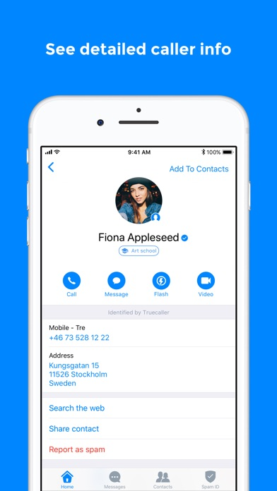 Screenshot for Truecaller in Jordan App Store