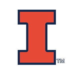 Illinois Fighting Illini Stickers PLUS - iMessage