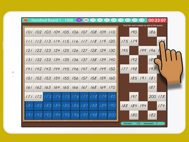 Count to 1000! Montessori Math screenshot-4