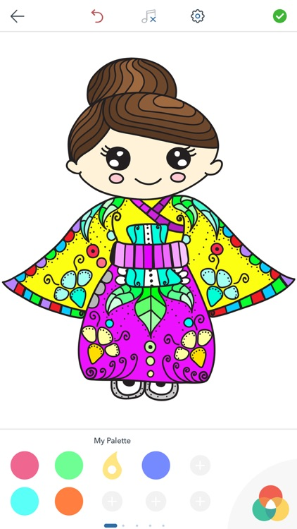 Korean Coloring Pages screenshot-4