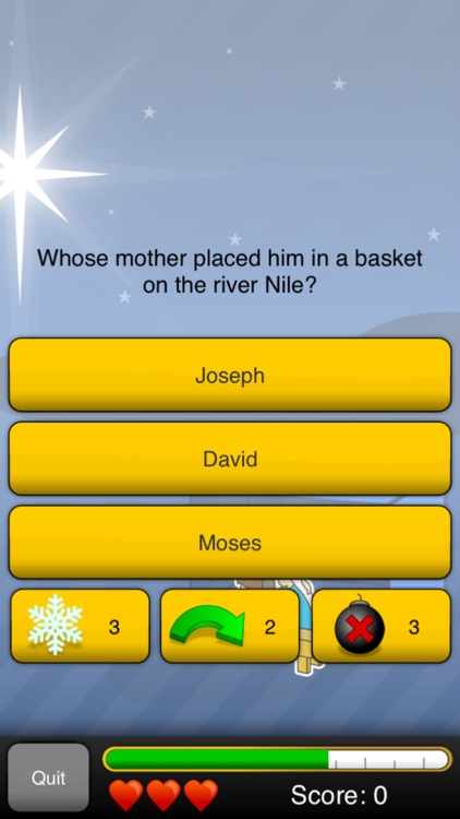 Bible Quizzer screenshot-0
