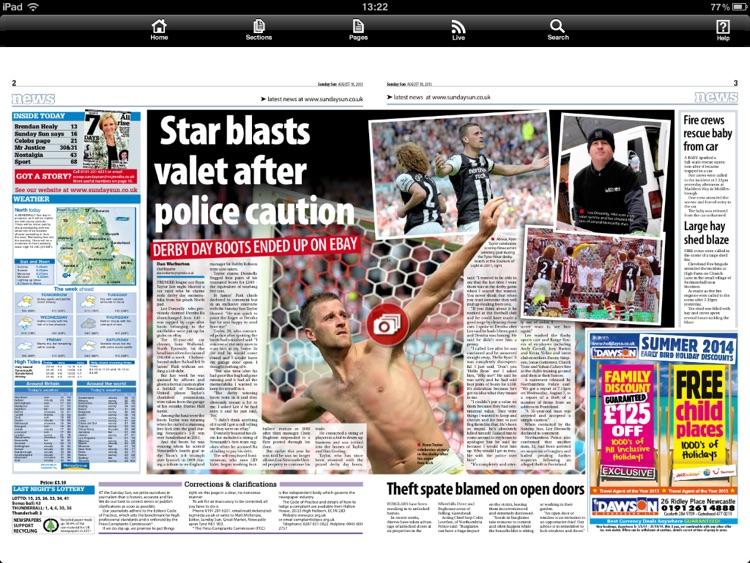 Sunday Sun Newspaper screenshot-4
