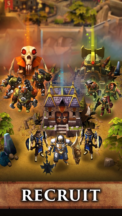 Battle Hordes - Building MMO screenshot-4