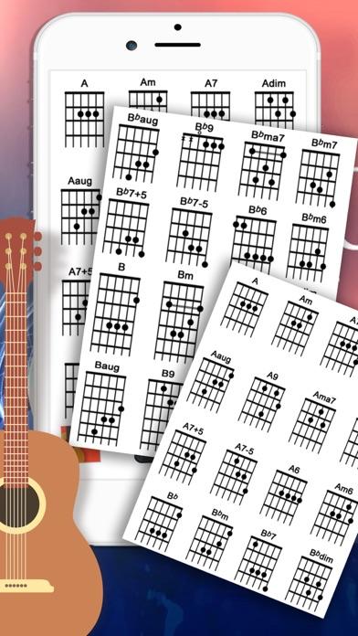 Guitar Tuner & Full Cord screenshot two