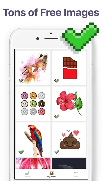 Pixel Art - Color by Number - Premium Access Platinum for Free
