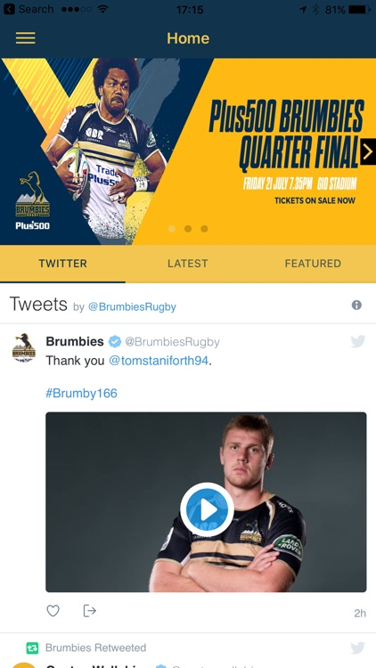 Brumbies screenshot-0