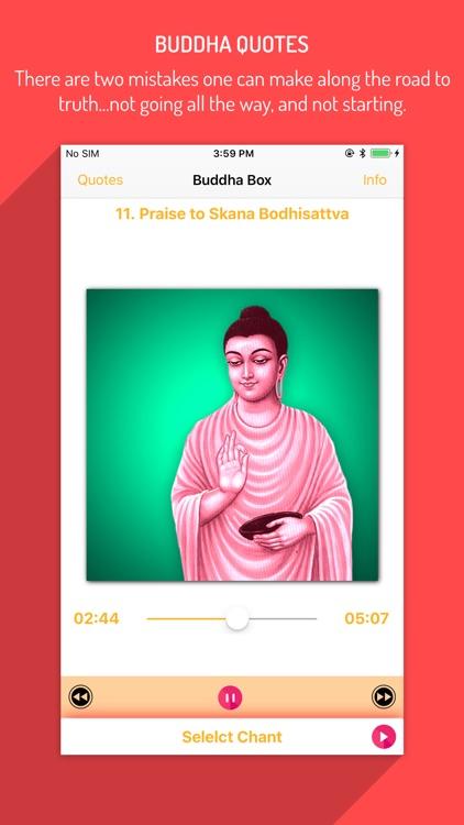 Buddha Box & Buddhist Chants