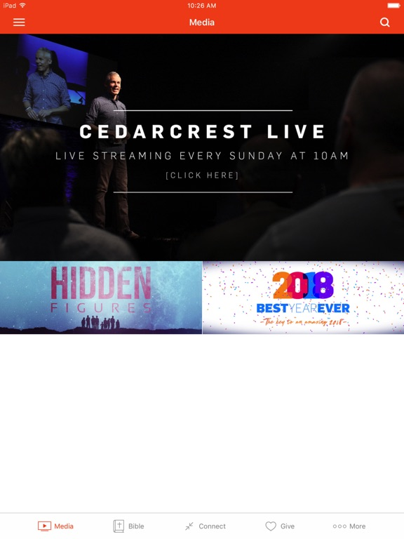 Cedarcrest Church screenshot 4