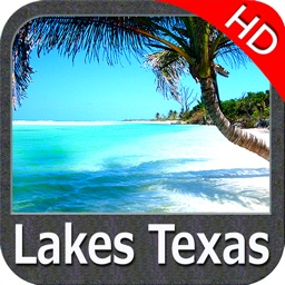 Lakes Texas HD fishing charts