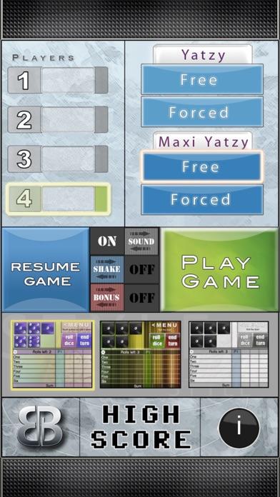 Screen Shot BB Yatzy 1