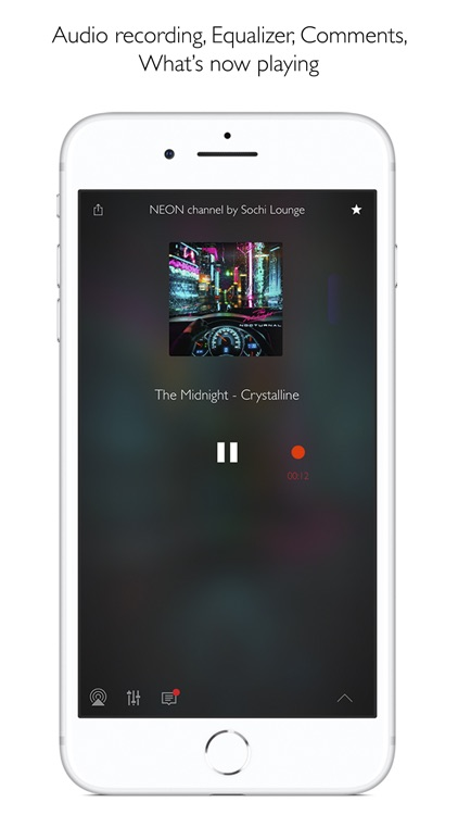 Radio by Muzzr, Record & Alarm