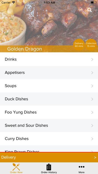 Golden Dragon York screenshot two