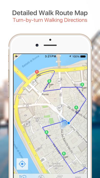 Tel Aviv Map and Walks screenshot four
