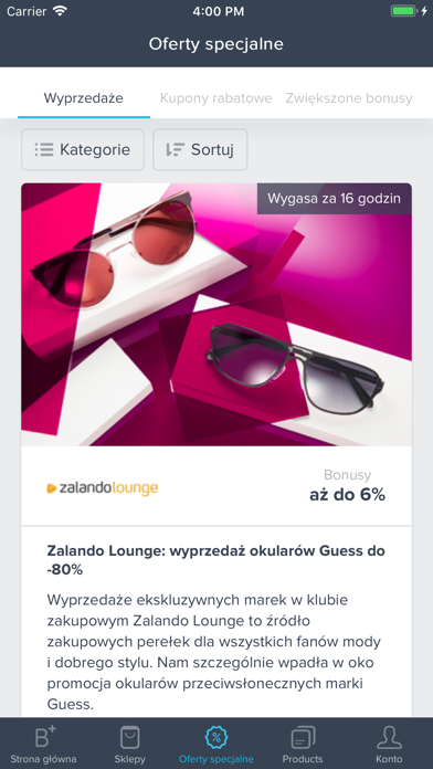 Bonusway Polska screenshot four