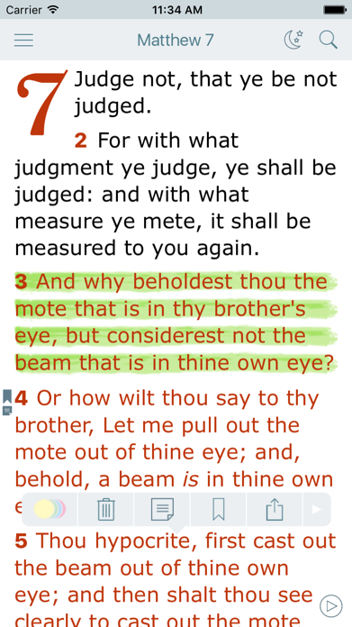 King James Bible with Audio Screenshot