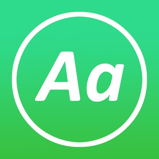 AnyFont app for ipad