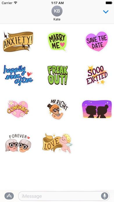 download Happy Wedding Time Sticker apps 0