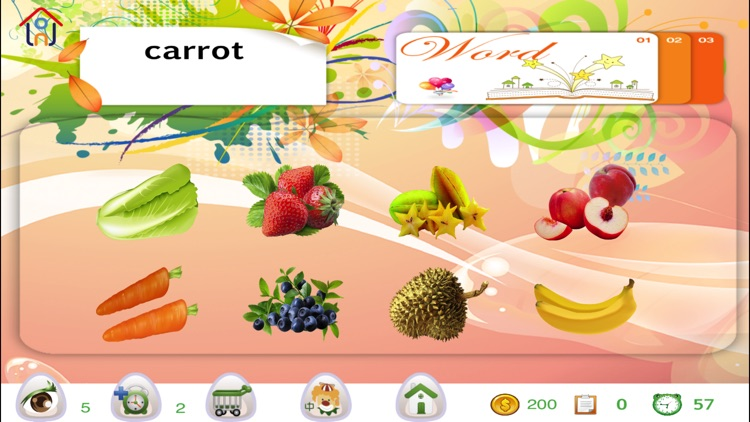 Find it! Hidden objects and English words match
