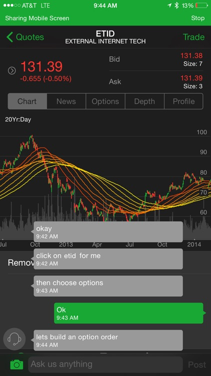 TD Ameritrade Mobile Trader screenshot-1