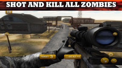 Last Heros Sniper Zombie screenshot 1