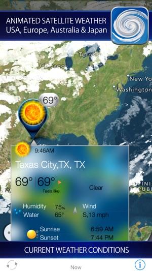 Hurricane storm tracker satellite radar on the app store screenshots freerunsca Images