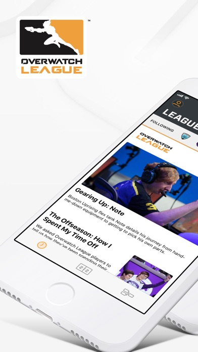 Screenshot for Overwatch League in United States App Store
