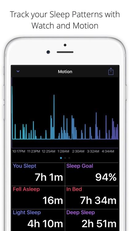 Sleep Pulse 2 Motion - The Sleep Tracker for Watch screenshot-0