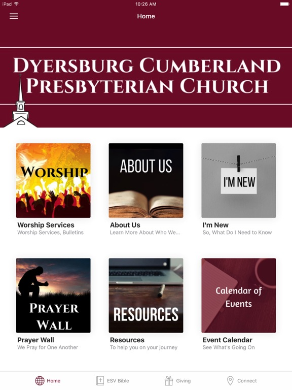 Dyersburg Cumberland Church screenshot 3