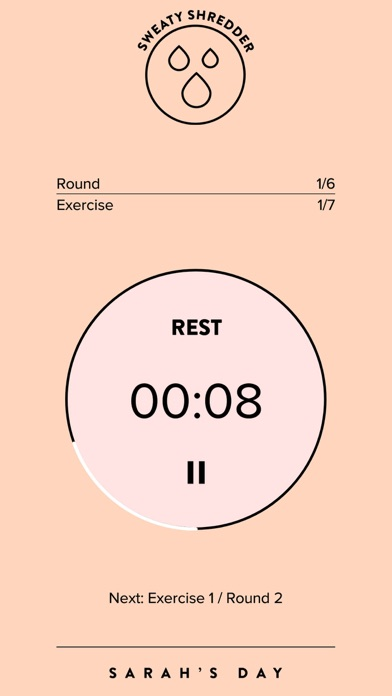 Sezzy Timer app image