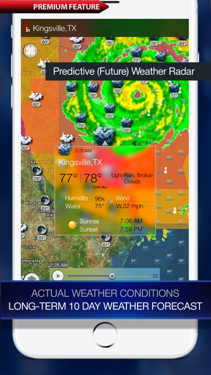 Weather Alert Map USA by Elecont LLC