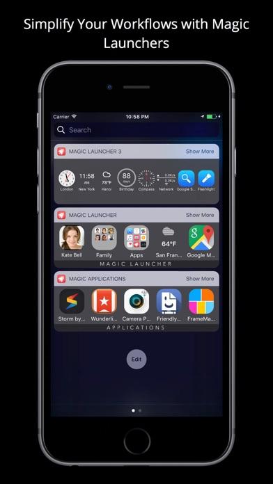 Magic Launcher Pro screenshot1