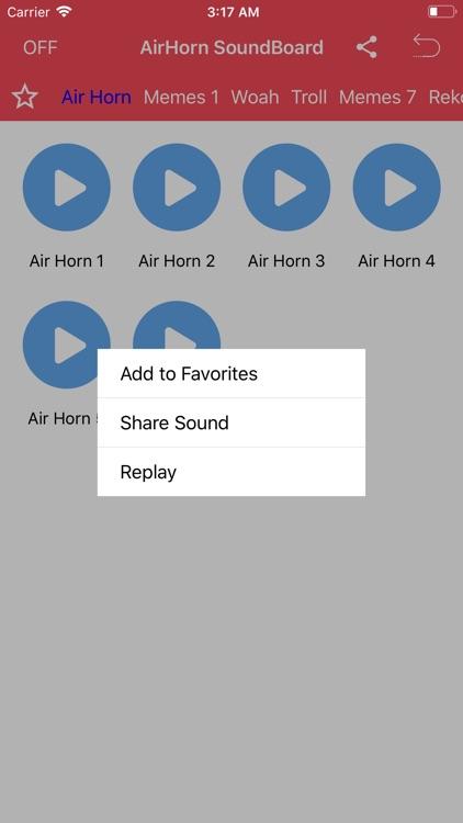Air Horn Meme Soundboard